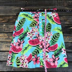 Rafaella Skirts - RAFAELLA Comfort Weekend  Tropical Skirt